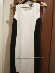 Двухцветное платье mango, размер s