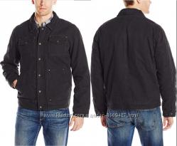 Неубиваемая теплая куртка из коттона канвас фирмы Bass, p L США