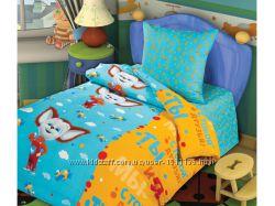Детский комплект постельного белья из бязи голд
