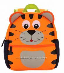 Детский рюкзак собака, кот, сова, белка, жираф 1-7 лет 3-D качество