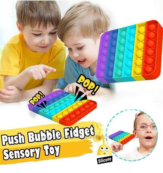 Антистресс Пупырка Игрушка квадрат Новинка 21 Push POP It Bubble Famly Game