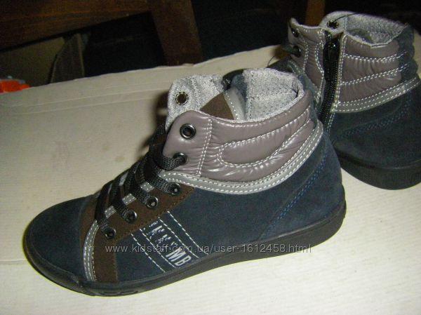Кожаные ботиночки, европейское производство, отличное качество