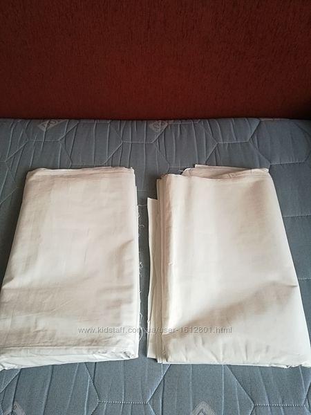 белый сатин  для пошива постельного