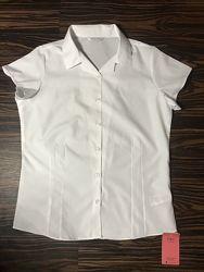 Рубашка белая, школьная 14-15 лет