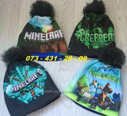 детская демисезонная шапка Майнкрафт Minecraft c67e0c98ce