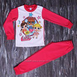 Дитяча піжама куколки Лол LOL тонка інтерлок