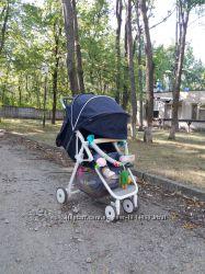 Прогулочная коляска-книжка
