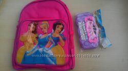 Рюкзак з принцесами новий дошкільний в подарок піано