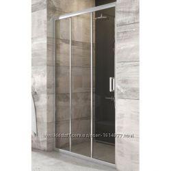 Душевые двери RAVAK Blix BLDP3-90 Полир алюм  Transparent