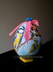 яйцо сувенирное декупаж