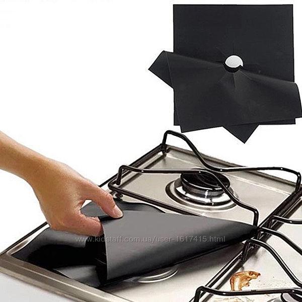 Газовые накладки защитные для плиты  27,5Х27,5