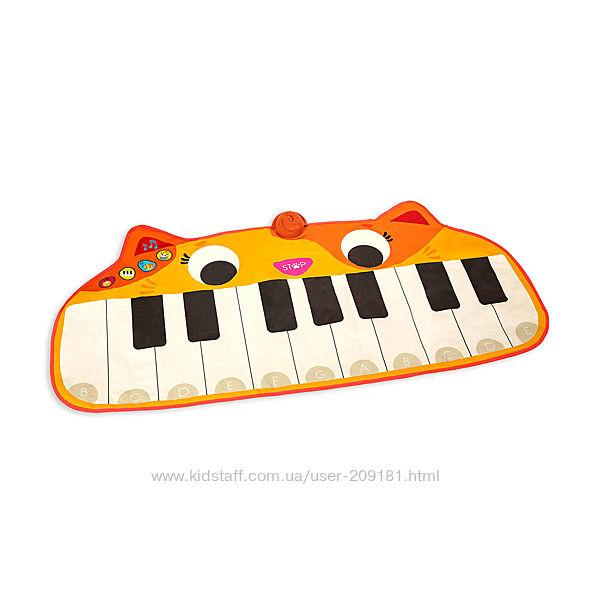 Музыкальный коврик-пианино мяуфон Battat LB1893Z