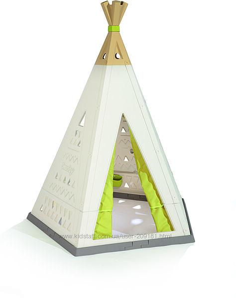 Палатка Smoby Toys Вигвам с функцией увеличения 140х147х183 см 811000