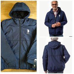 Новая шикарная фирменная демисезонная куртка U. S. Polo Assn. Оригинал