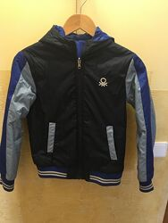 Куртка двостороння benetton 10-11 р. на ріст 150
