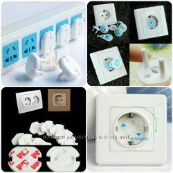 Самые удобные заглушки от тока в розетки, защита детей от тока
