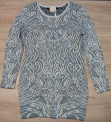 Платье-туника с люрексом