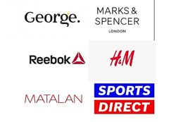 H&M George M&S Matalan Sportsdirect Reebok Без Комиссии Англия
