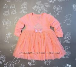 Детское нарядное платье размеры 86-110
