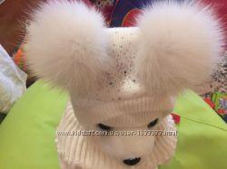 Зимняя шапка, шлем, шльом, шапка-шлем, с воротником