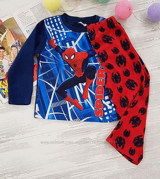 пижама теплая флис 2 3 года