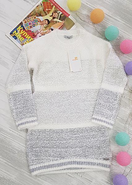 Теплое вязаное платье mayoral 8 128