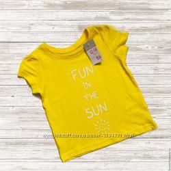 Primark футболка для девочки 12-18, 18-24, 24-36 мес