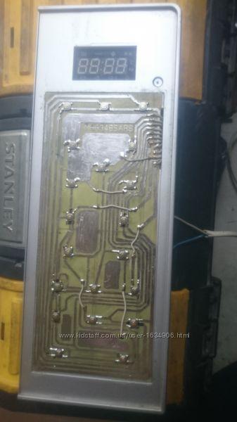 Клавиатура микроволновки LG MH-6348SAR, MH-6348SARS, MFM52093102