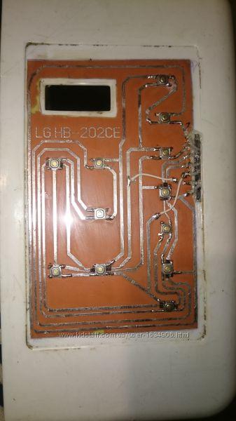 Клавиатура хлебопечки LG HB-202CE