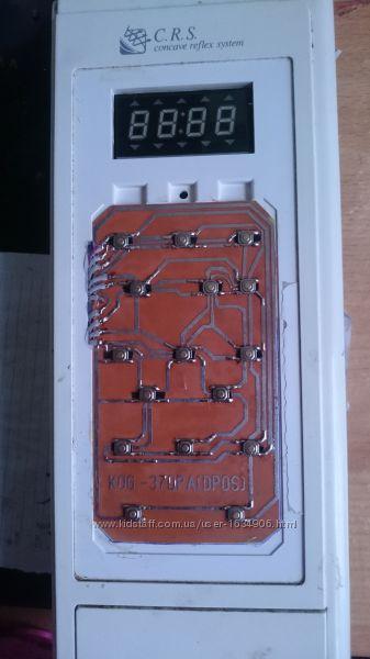 Клавиатура микроволновки Daewoo KOG-37DPA, KOG-37DP0S