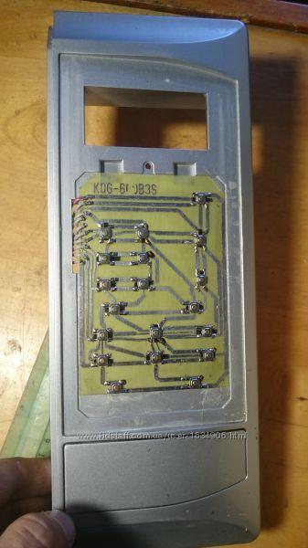 Клавиатура микроволновки Daewoo KOG-6CDB3S, KOG-6CDBW
