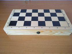 Шахова деревяна дошка