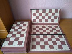 Шахово-шашкова двостороння дошка