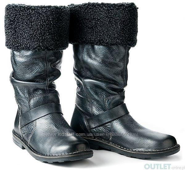 Новые кожаные сапожки ECCO JADE, еврозима - 31