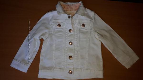 Лёгкий коттоновый  пиджак для девочки на 24-36мес. PRIMARK