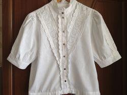 Красивая льняная блузка TOPSHOP, размер 44-46