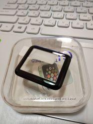 Защитное противоударное 3D стекло APPLE WATCH 1 2 3 серии, 38, 42 мм