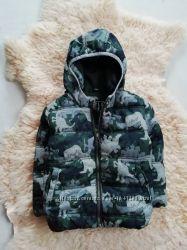 Фирменная куртка деми на 1-2 года