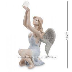 Фигурки ангелочков. Фарфоровые статуэтки ангелов в ассортименте