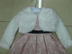 Кофточка болеро тёплое на девочку 1 -8 лет на нарядное бальное платье нов
