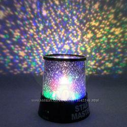 Качественный Star Master проектор ночник звездное небо светильник