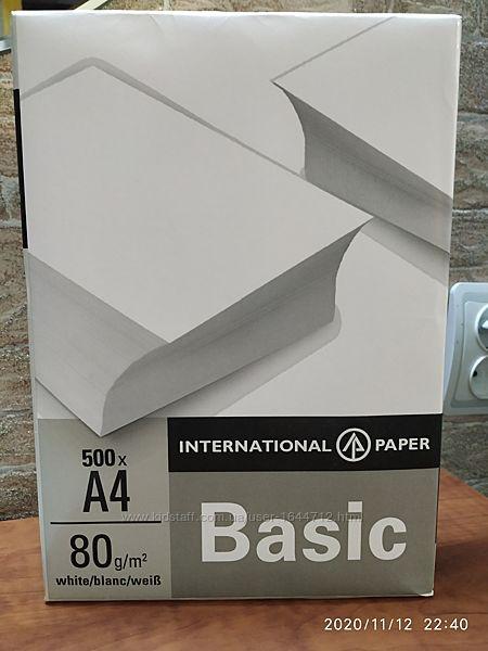 Бумага для принтера А4 80г/м2
