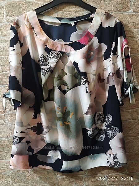Женская блузка летняя 50 размера