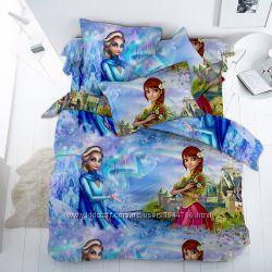 Эльза - постельное белье для девочек по мотивам Холодное сердце