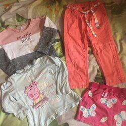 Лот одежды для девочки 2-3 года