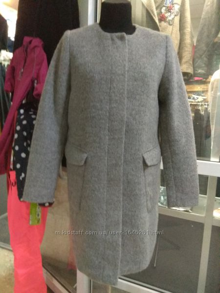 женское пальто бренд H&M, р. 40, р. 46