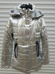 Куртка утепленная для девочек демисезонная 6-16 лет