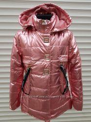 Куртка для девочки на синтепоне, размеры 6-16 лет