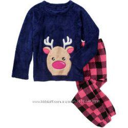 Теплые пижамки на девочку известных американских брендов