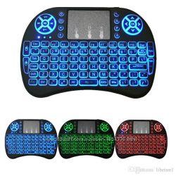 Беспроводная мини клавиатура с подсветкой mini i8